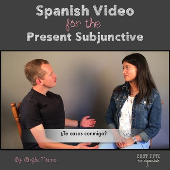 Spanish Video for the Present Subjunctive