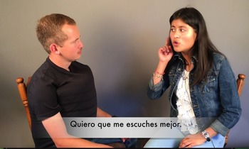Spanish Videos for the Present Progressive and Present Subjunctive
