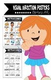 Spanish Visual Direction Posters - Posters de instrucciones en español