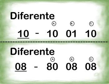 Spanish Visual Discrimination/Discriminacion Visual in a Station Center Activity