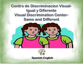 Spanish Visual Discrimination/Discriminacion Visual in a S