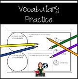 Spanish Visual Vocabulary {3,000 Follower Freebie Celebration!}