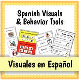 Spanish Visuals and Behavior Tools {Visuales en Español}