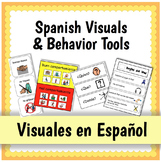 Spanish Visuals and Behavior Tools {Visuales en Español}