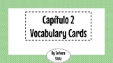Spanish Vocabulary Picture Cards Capitulo 2-for flashcard