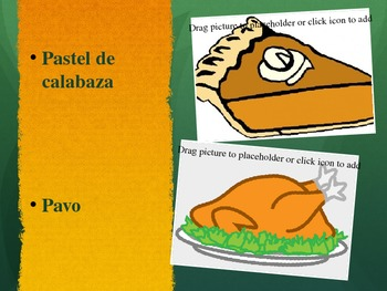 Spanish Vocab Thanksgiving ppt