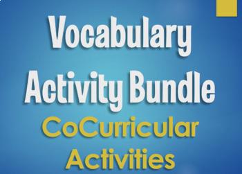 Spanish Vocabulary Activity Bundle:  CoCurricular Activities