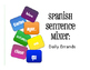 Spanish Vocabulary Activity Bundle:  Daily Errands