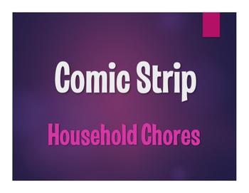 Spanish Vocabulary Activity Bundle:  Household Chores