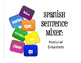 Spanish Vocabulary Activity Bundle:  Natural Disasters