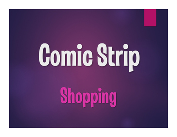 Spanish Vocabulary Activity Bundle:  Shopping