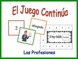 Spanish Jobs and Professions Activity for Groups, Inventive Twist on Memory