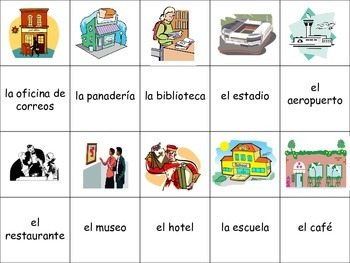 Spanish City Locations Activity for Groups, Inventive Twist on Memory