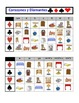 Spanish Furniture Speaking Activity: Playing Cards, Groups