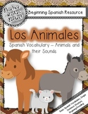 Spanish Vocabulary -  Animals and their Sounds:  Los  Animales