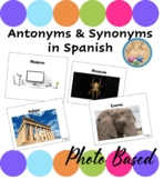 Spanish Vocabulary Antonyms and Synonyms
