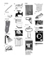 Spanish Vocabulary - Bathroom - Furniture and Household Items Crossword Puzzle