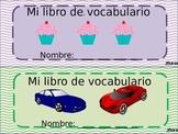 Spanish Vocabulary Book - Libro de vocabulario