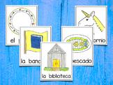 Spanish Vocabulary Cards - Banco de palabras con sílabas compuestas y mixtas