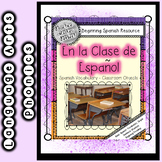 Spanish Vocabulary - Classroom Objects:  En la Clase de Espanol