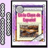 Beginning Spanish - Classroom Objects:  En la Clase de Espanol