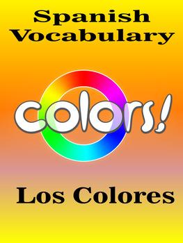 Spanish Vocabulary - Colors