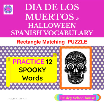 Spanish:  Day of the Dead -  Dia De Los Muertos /Halloween: