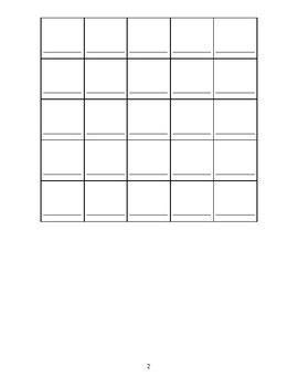 Spanish Vocabulary Drawing Activity