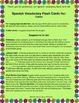 "Spanish Vocabulary Flash Cards (Colors) - 2.5"" by 3.3"" Medium"