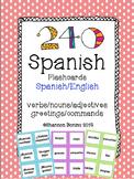 Spanish Vocabulary Flashcard Mega Pack