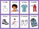 Spanish Vocabulary Flashcards and Word Wall Bundle