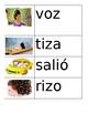 Spanish Vocabulary Flashcards Set 1