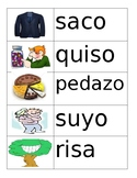 Spanish Vocabulary Flashcards Set 1