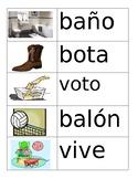 Spanish Vocabulary Flashcards Set 3
