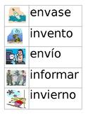 Spanish Vocabulary Flashcards Set 4