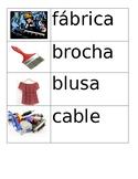 Spanish Vocabulary Flashcards Set 5