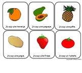 Spanish Vocabulary Game Cards