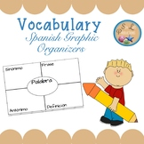 Spanish Vocabulary Graphic Organizers