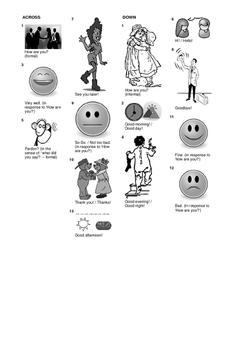 Spanish Vocabulary - Greetings Pack