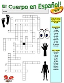 Spanish Vocabulary - HUMAN BODY (2 Puzzles)