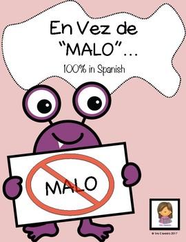 "Spanish Vocabulary ""Instead of Bad"""