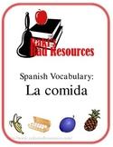 Spanish Vocabulary - La Comida