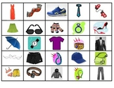 Spanish Vocabulary Memory Game (ropa)