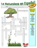 Spanish Vocabulary - NATURE (2 Puzzles)