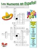 Spanish Vocabulary - NUMBERS (2 Puzzles)