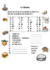Spanish Vocabulary Pack - Lunch