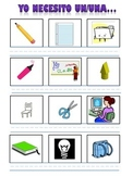 Spanish Vocabulary Package for Classroom Objects