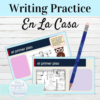 Spanish Floor Plan Writing Practice