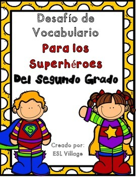 In Spanish / 2nd Grade Word Work (Trabajando con palabras / Segundo Grado)