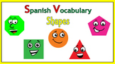 Spanish Vocabulary:  Shapes (PowerPoint)